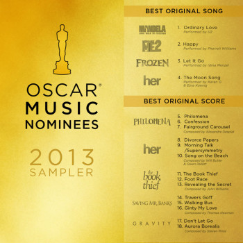 Oscar Music Nominees 2013