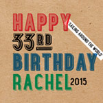 Rachel Birthday Mix 2015