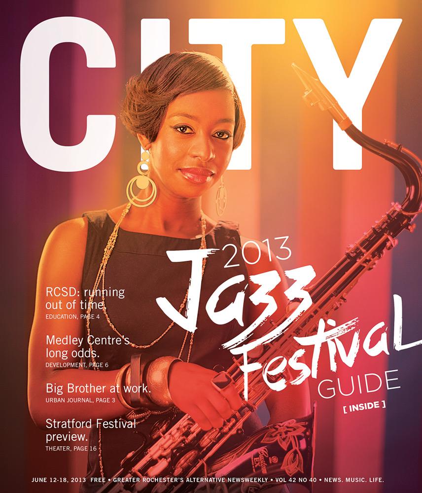CITY Newspaper cover - Jazz Festival