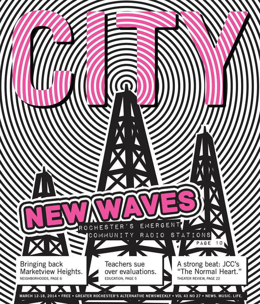 CITY Newspaper cover - New Waves