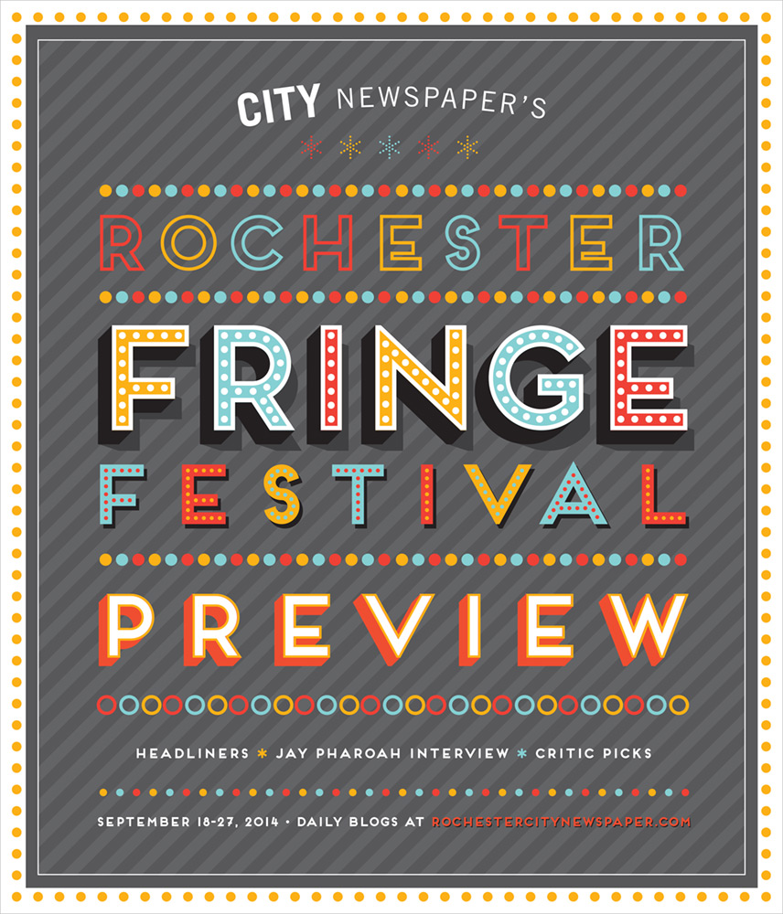 CITY Newspaper cover - Fringe Festival Preview 2014