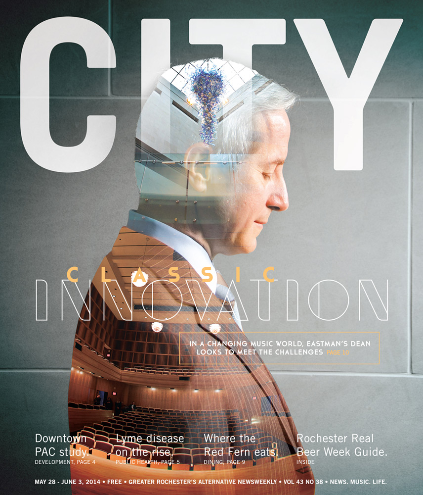 CITY Newspaper cover - ESM dean