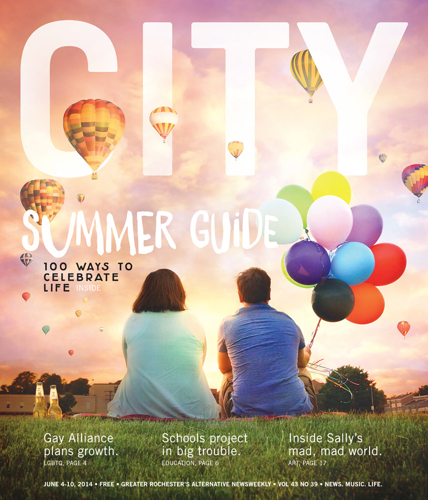 CITY Newspaper cover - Summer Guide 1