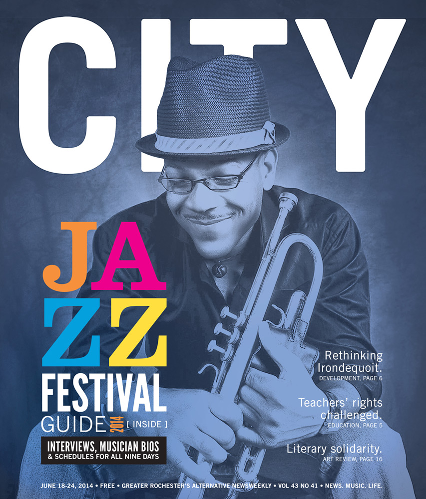 CITY Newspaper - Jazz Festival Cover