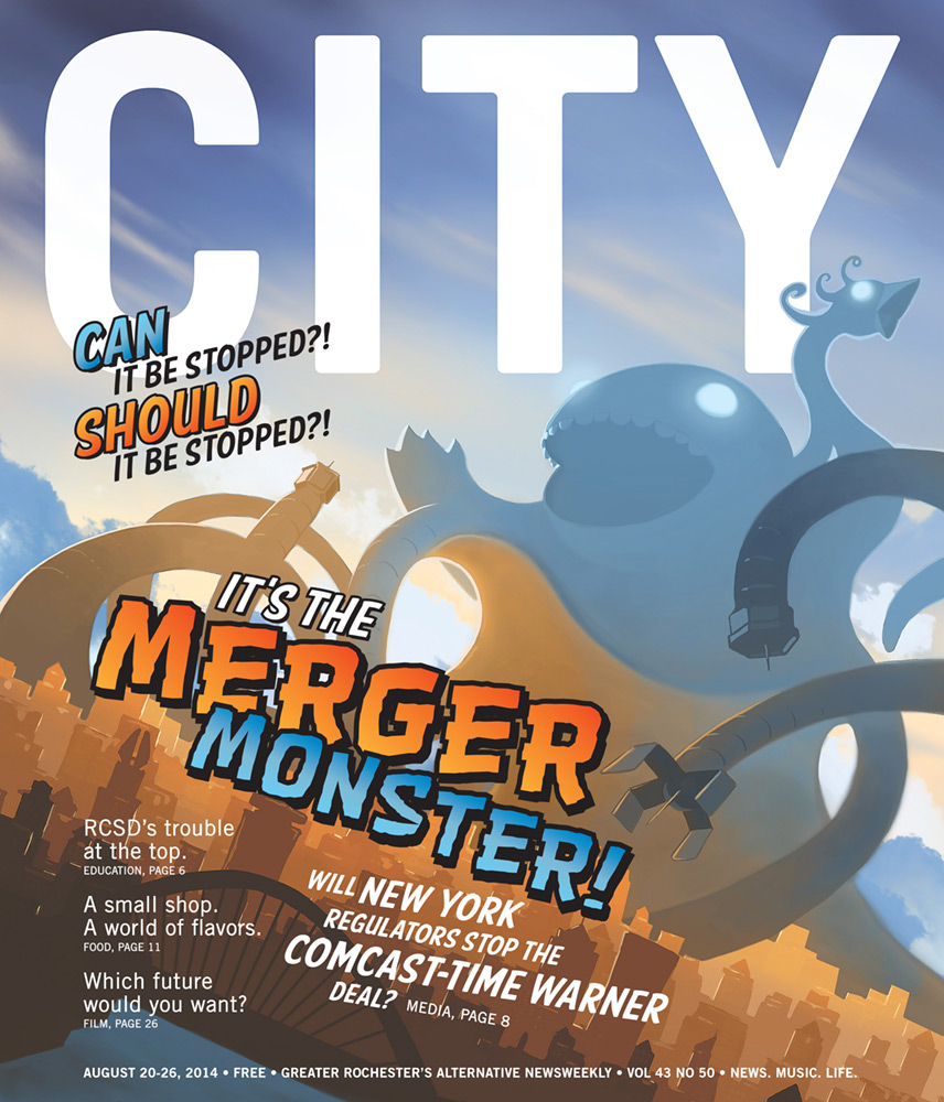 CITY Newspaper cover - Comcast/TWC