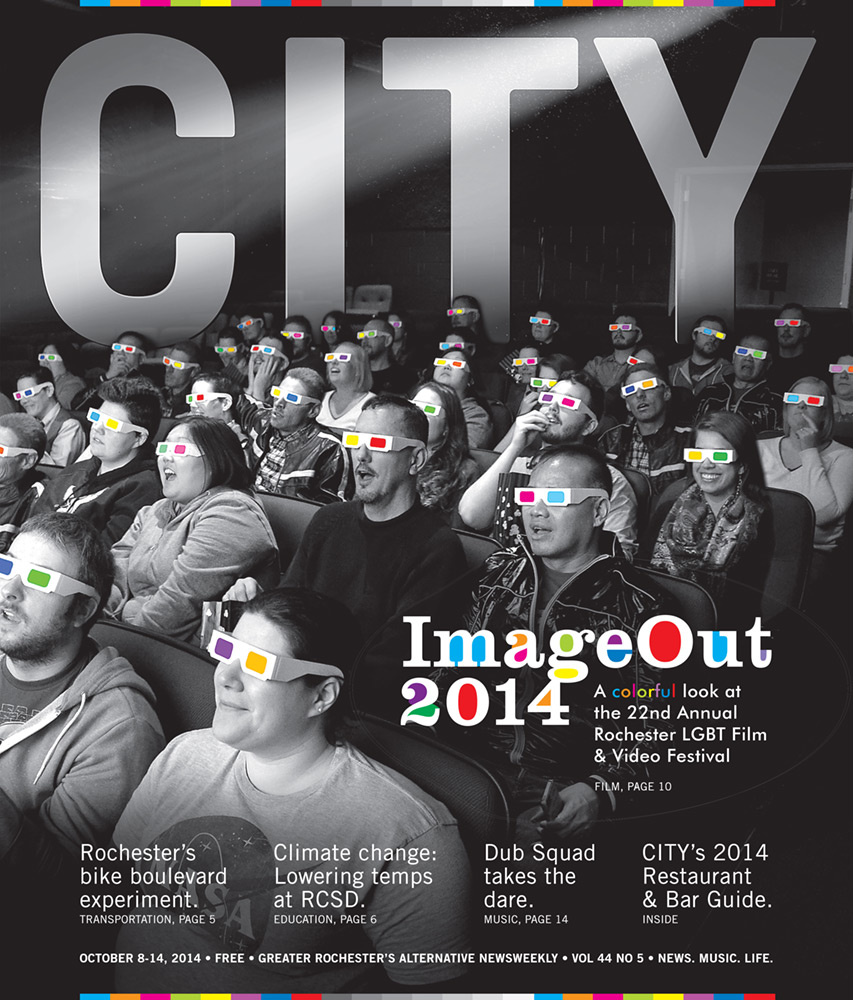 CITY Newspaper cover - ImageOut 2014