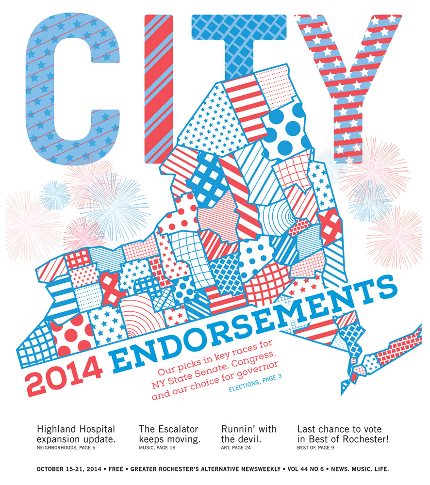 CITY Newspaper cover - 2014 Endorsements