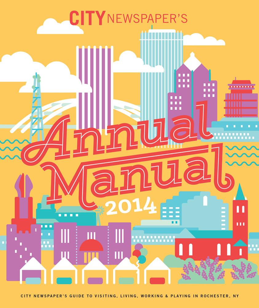 CITY Newspaper cover - Annual Manual 2014