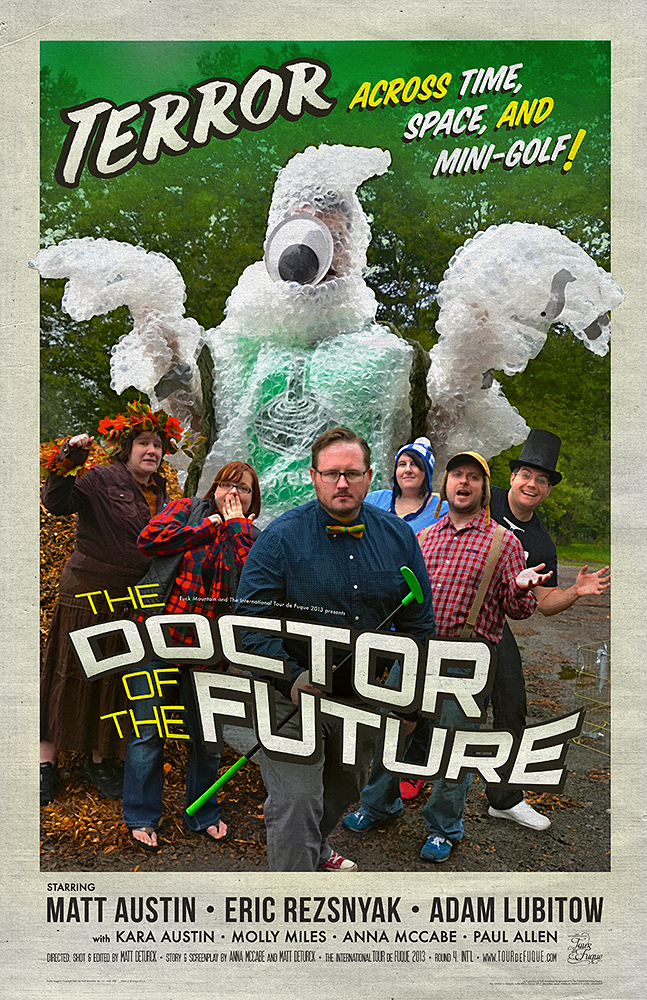 The Doctor of the Future poster