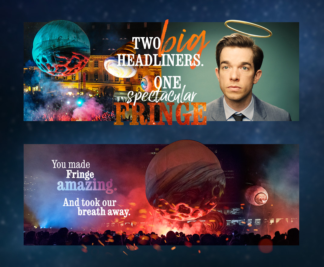 Fringe Homepage Graphics
