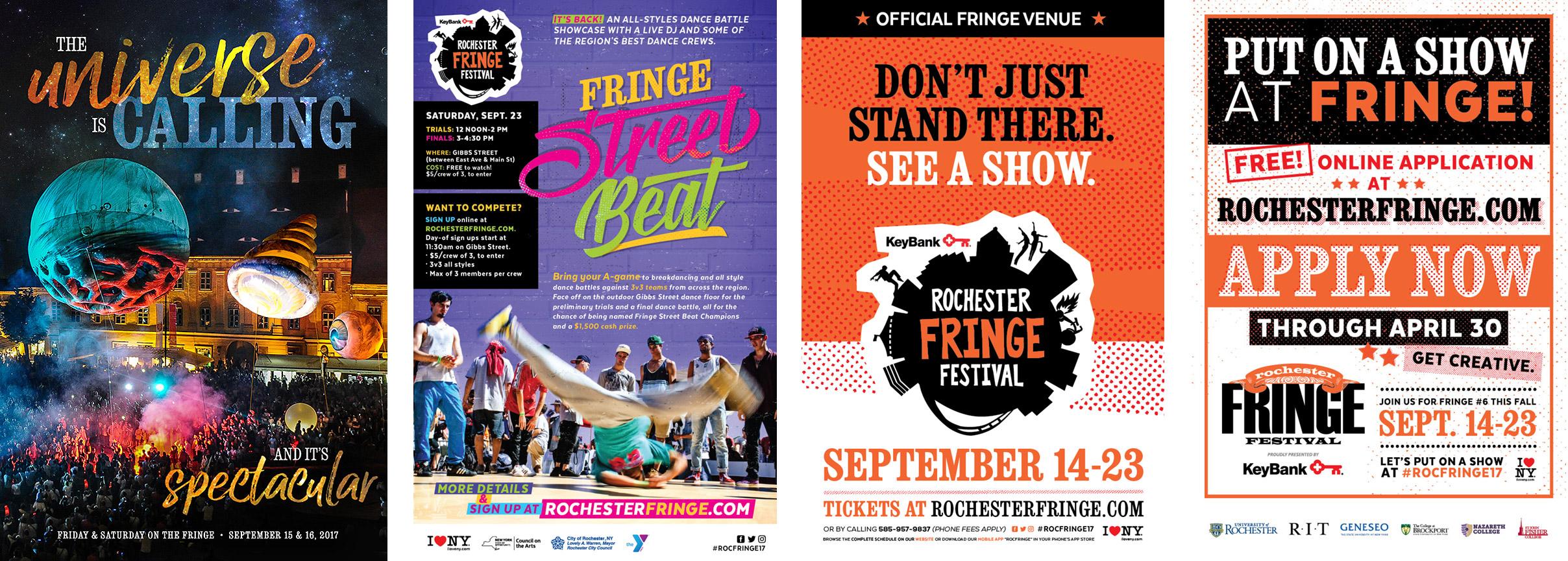Fringe Poster Designs