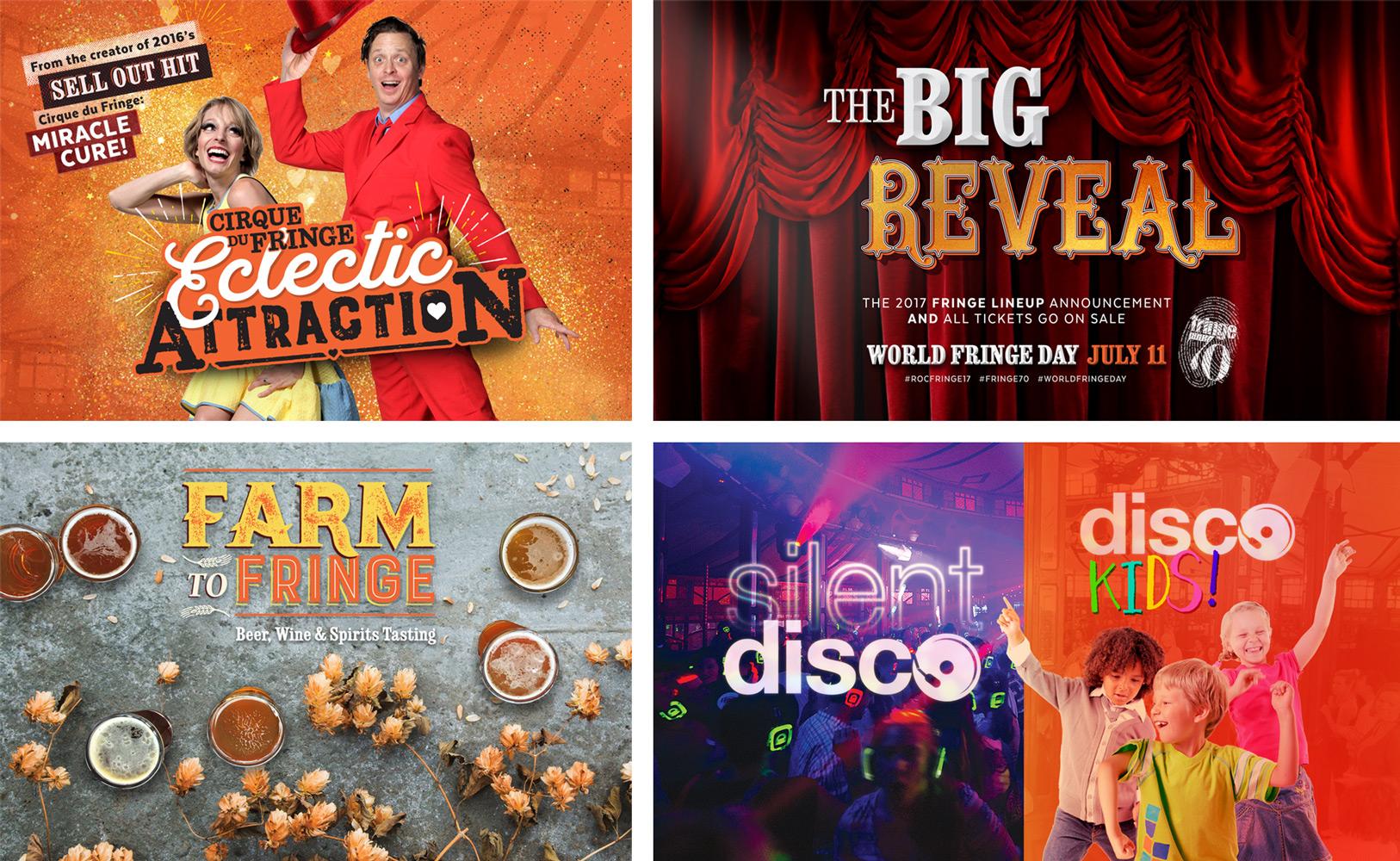 Fringe - Show Logos 2017