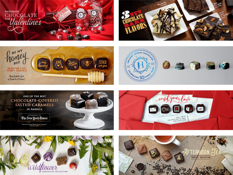 Hedonist Homepage Slides